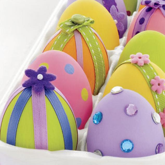 Раскраска пасхальных яиц - Пасха - Готовимся к празднику ...